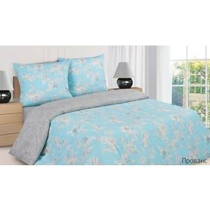 Комплект постельного белья Ecotex Евро, поплин, Прованс (КПЕПрованс)