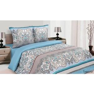 Комплект постельного белья Ecotex Евро, поплин, Тиволи (КПЕТиволи) комплект постельного белья ecotex евро поплин навахо кпенавахо