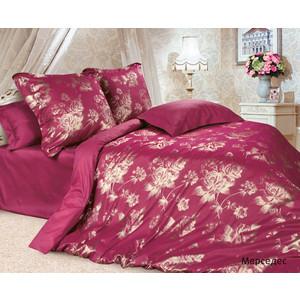 Комплект постельного белья Ecotex Евро, сатин-жаккард, Мерседес (КЭЕМерседес) удлинитель двери мерседес аксор