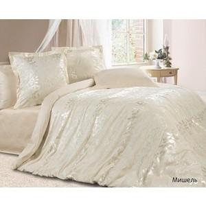 Комплект постельного белья Ecotex 2-х сп, сатин-жаккард, Мишель (КЭМчМишель) комплект постельного белья ecotex 2 х сп сатин жаккард джульетта кэмджульетта