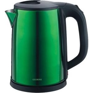 Чайник электрический Gelberk GL-323 зеленый чайник электрический gelberk gl 402