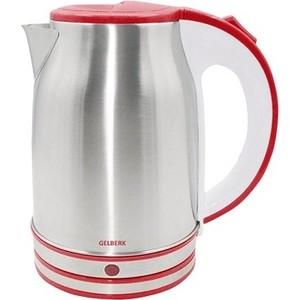 Чайник электрический Gelberk GL-327 красный чайник электрический gelberk gl 402