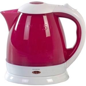 Чайник электрический Gelberk GL-401 бордовый чайник электрический gelberk gl 402