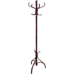 Вешалка-стойка Brabix CR-9301 дерево 1,8 м крестовина 5 крючков цветной махагон 601751 sinikon крестовина одноплоскостная d110х110х110х87гр