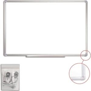 Доска магнитно-маркерная Staff 60x90 см алюминиевая рамка 235462