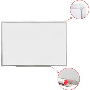 Доска магнитно-маркерная Офисмаг 60x90 см алюминиевая рамка 236446