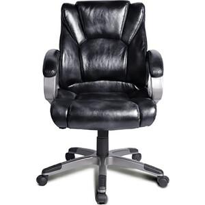 Кресло офисное Brabix Eldorado EX-504 экокожа черное 530874 кресло офисное brabix heavy duty hd 001 экокожа 531015