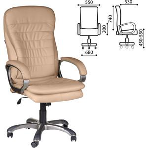 Кресло офисное Brabix Omega EX-589 экокожа песочное 531402 кресло офисное brabix heavy duty hd 001 экокожа 531015