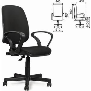 Кресло оператора Brabix Basic MG-310 с подлокотниками черное JP-15-2 531409 самокаты no name pra 102 jp mg 02