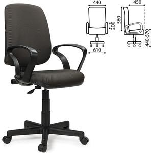Кресло оператора Brabix Basic MG-310 с подлокотниками серое JP-15-1 531410 самокаты no name pra 102 jp mg 02