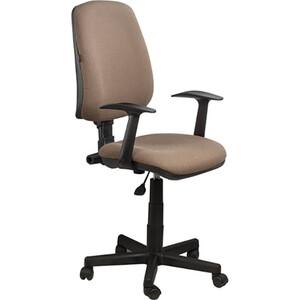 Кресло оператора Brabix Basic MG-310 с подлокотниками коричневое KB-28 531414 gramercy стул с подлокотниками louis arm chair