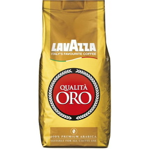 Lavazza Qualita Oro 500 beans / Оро зерно вакуумная упаковка lavazza crema e aroma 1000 beans крем арома зерно вакуумная упаковка