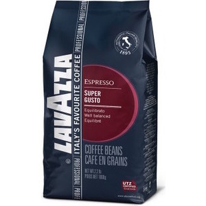 Lavazza Super Gusto UTZ Bag 1000 bean
