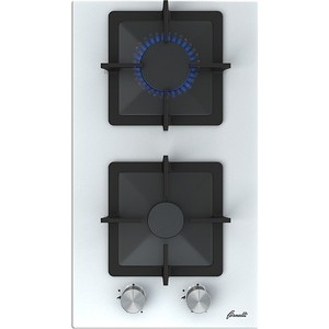 Газовая варочная панель Fornelli PGT 30 CALORE WH варочная панель fornelli pgt 60 calore black
