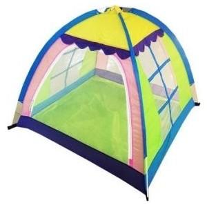 Палатка игровая Наша Игрушка 4-х гранная, 110*110*120 см, сумка на молнии палатка игровая наша игрушка лягушонок 100 100 98см сумка
