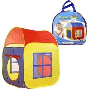 Палатка игровая Наша Игрушка Домик 86*86*105 см, сумка палатка игровая наша игрушка лягушонок 100 100 98см сумка