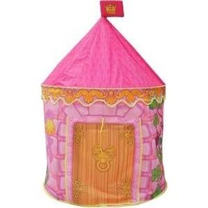 Палатка игровая Наша Игрушка Замок принцессы, сумка на молнии палатка игровая наша игрушка лягушонок 100 100 98см сумка