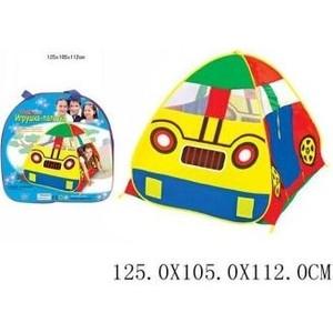 Палатка игровая Наша Игрушка Машина 125*105*112 см, сумка палатка игровая наша игрушка лягушонок 100 100 98см сумка