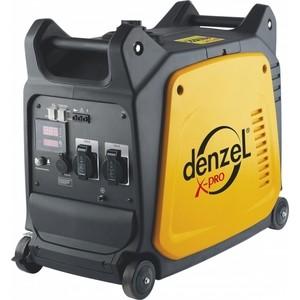 Генератор бензиновый инверторный DENZEL GT-2600i генератор инверторный бензиновый et 3600i etalon