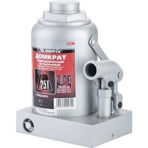 все цены на Домкрат гидравлический бутылочный Matrix 25т 240-375мм Master (50733) онлайн