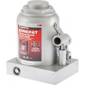 Домкрат гидравлический бутылочный Matrix 30т 240-370мм Master (50735) линейка уровень 1200 мм matrix master 30579