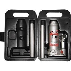 Домкрат гидравлический бутылочный Matrix 2т 181-345мм Master (50750) цена
