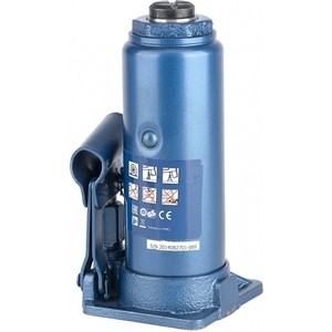 Домкрат гидравлический бутылочный Stels 8т 230-457мм (51104) домкрат гидравлический бутылочный телескопический matrix 8т 170 430мм 50749