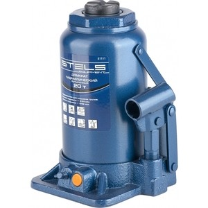 Домкрат гидравлический бутылочный Stels 20т 244-449мм (51111) домкрат гидравлический бутылочный mirax 20т 43260 20