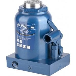 Домкрат гидравлический бутылочный Stels 30т 244-370мм (51112) домкрат гидравлический бутылочный stels 2т 181 345мм 51121