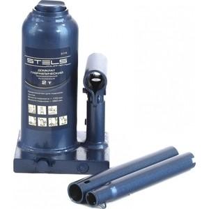 Домкрат гидравлический бутылочный телескопический Stels 2т 170-380мм (51115) домкрат гидравлический бутылочный sparta 2т 148 278мм 50321