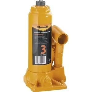 Домкрат гидравлический бутылочный SPARTA 3т 180-340мм (50322) домкрат гидравлический бутылочный sparta 2т 148 278мм 50321