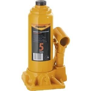 Домкрат гидравлический бутылочный SPARTA 5т 195-380мм (50323) домкрат skyway 101631 реечный 48 3 5т 130 1070 мм