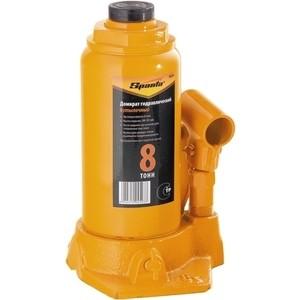 Домкрат гидравлический бутылочный SPARTA 8т 200-385мм (50324) домкрат гидравлический бутылочный телескопический matrix 8т 170 430мм 50749