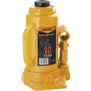Домкрат гидравлический бутылочный SPARTA 10т 200-385мм (50325) домкрат стелла hm 100 10т гидравлический низкоподхватный