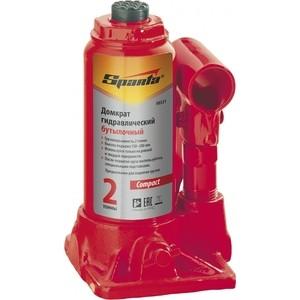 Домкрат гидравлический бутылочный SPARTA 2т 150-280мм Compact (50331) домкрат гидравлический бутылочный sparta 2т 148 278мм 50321
