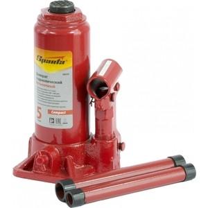 Домкрат гидравлический бутылочный SPARTA 5т 180-340мм Compact (50333) домкрат гидравлический бутылочный sparta 2т 148 278мм 50321