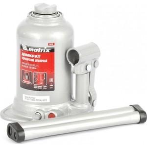 Домкрат гидравлический бутылочный телескопический Matrix 8т 170-430мм (50749) домкрат гидравлический бутылочный mirax 8т 43260 8