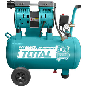 Компрессор безмасляный TOTAL TCS1075242 компрессор масляный total tc1301006
