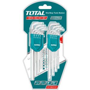 Набор ключей имбусовых TOTAL 18шт (THT106KT0181) набор инструментов 18шт gigant gt 18