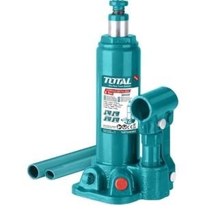 Домкрат гидравлический бутылочный TOTAL 6т (THT109062) домкрат гидравлический бутылочный телескопический matrix 6т 170 430мм 50747