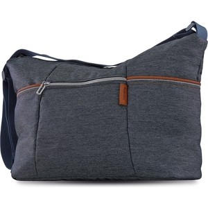Сумка для коляски Inglesina Trilogy Day Bag Village Denim сумка для коляски moon messenger bag jeans 994