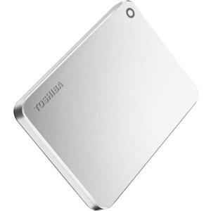 Внешний жесткий диск Toshiba Canvio Premium серебристый (HDTW110ECMAA) внешний жесткий диск toshiba hdtp205ew3aa
