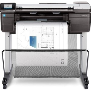 Плоттер HP Designjet T830 24 MFP (F9A28A) q1251 60029 q1251 60096 designjet 5500 boot rom without ps printer plotter parts free shipping