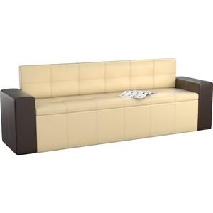 1823bd3eb178f Кухонный диван АртМебель Династия эко-кожа бежево-коричневый