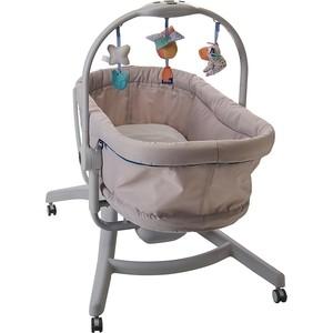 Кроватка-стульчик Chicco Baby Hug 4-в-1 Glacial пылесос lg v k88504 hug
