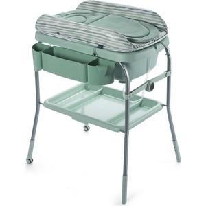 Пеленальный столик Chicco с ванночкой Cuddle & Bubble Comfort Eucalyptus chicco eletta comfort silver