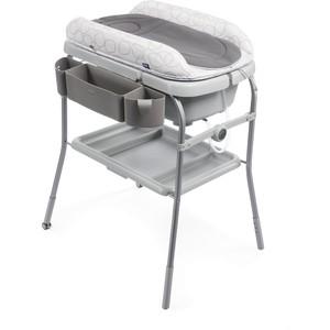Пеленальный столик Chicco с ванночкой Cuddle & Bubble Comfort Sage chicco eletta comfort silver