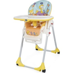 Стульчик для кормления Chicco POLLY EASY BIRDLAND chicco polly canyon