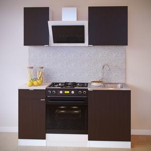 Кухня СОКОЛ ТК-06м белый/венге + ПН-06 белый/венге + ТК-04.1 белый/венге + ПН-04 белый/венге