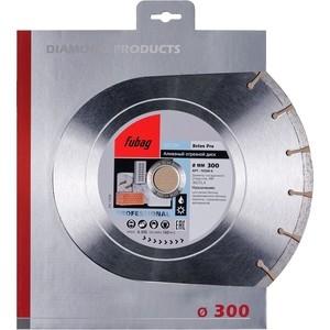 Алмазный диск Fubag Beton Pro 300/25.4мм (10300-6) диск алмазный fubag 140х30мм beton pro 58049 5